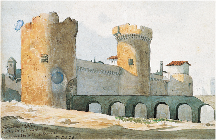 Torres Canaletes 1855