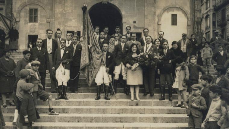 Colla de Sant Medir a Josepets 1931 Dominguez AFB