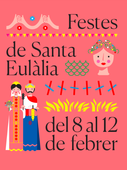 Festes Santa Eulàlia Poster