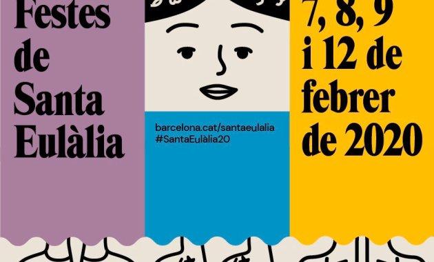 Festes de Santa Eulàlia Poster 2020