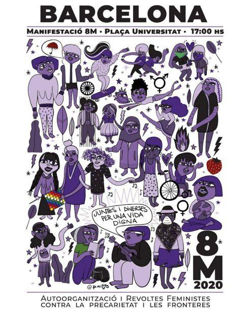 barcelona_8M-manifestació_2020_poster