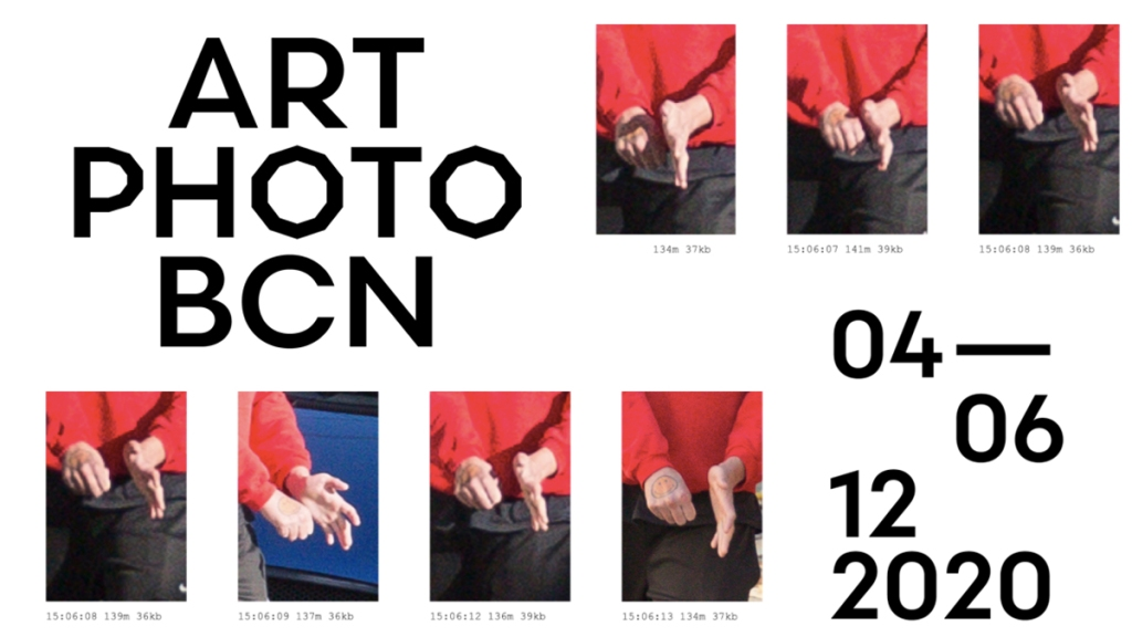 Art Photo BCN 2020 promotional banner with logo, event dates and photos