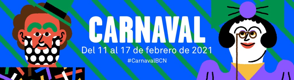 Barcelona Carnaval 2021 poster