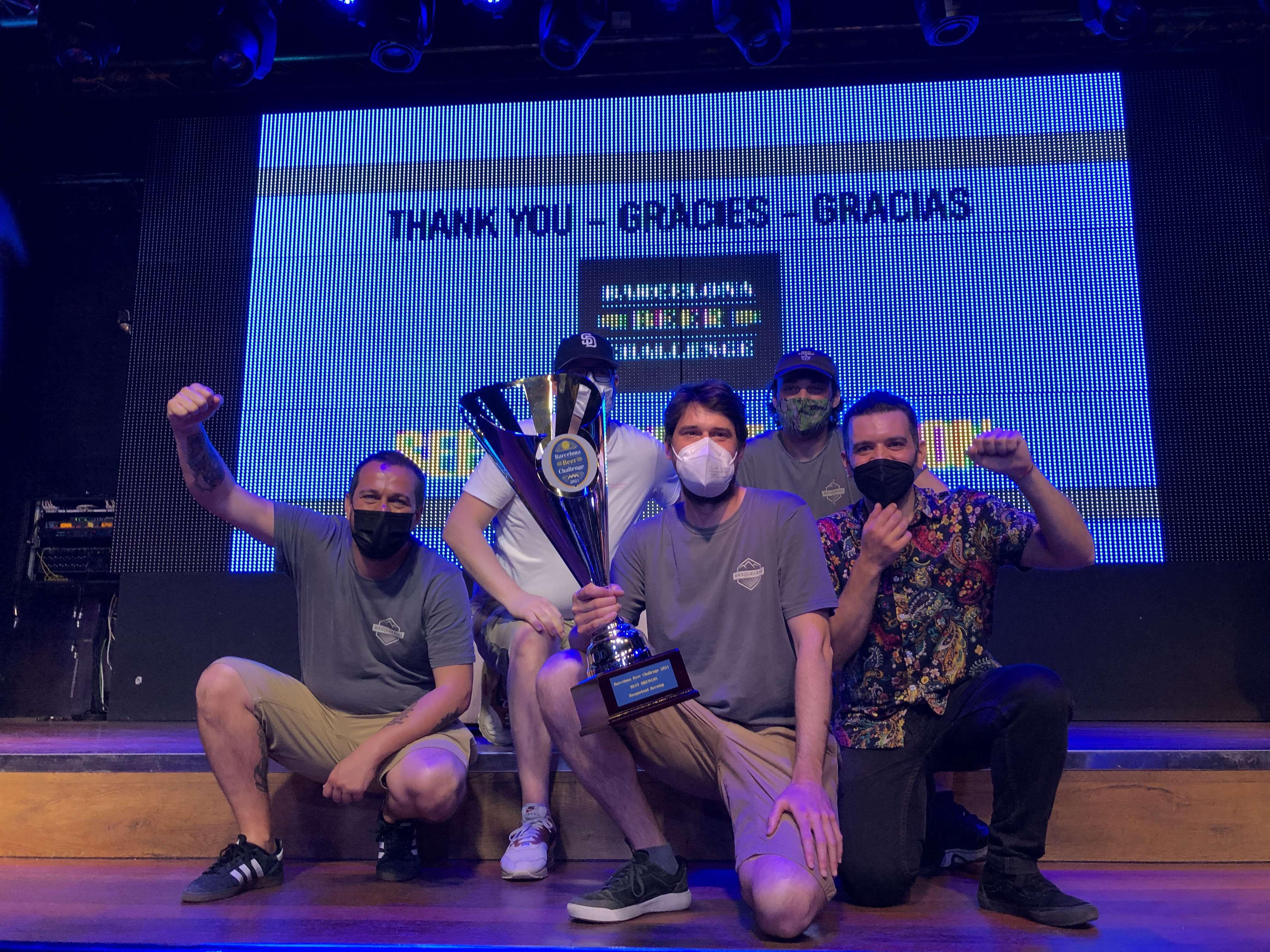 Winners of Barcelona Beer Challenge 2021 Best Brewery of the Year: BasqueLand Brewing