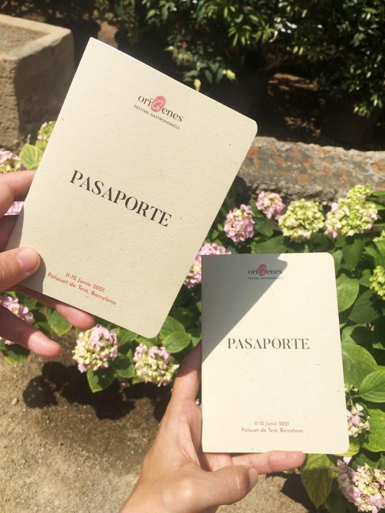 OríGenes Gastronomic Festival 2021 passports