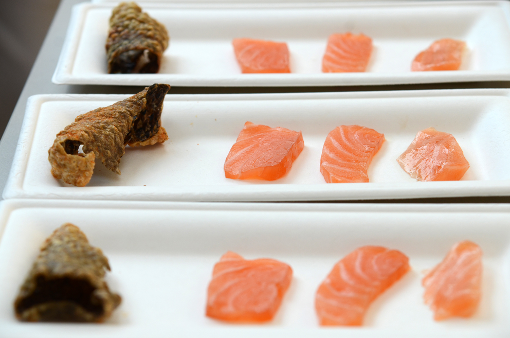 Salmon served up four different ways at oríGenes Gastronomic Festival 2021
