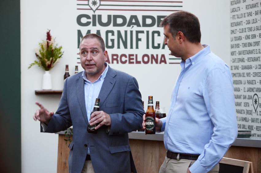 Carlos Olivares and Roger Pallarols present Ciudades Magníficas at Poble Espanyol in Barcelona